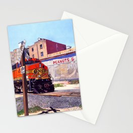 Portales Train Stationery Cards