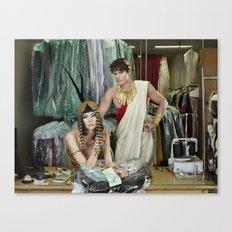 Cleopatra and Caesar Canvas Print