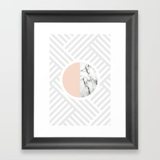 wes Framed Art Print