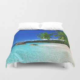 Turquoise Waters Duvet Cover