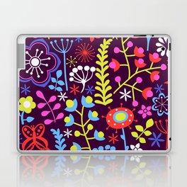 Neon Floral Laptop & iPad Skin