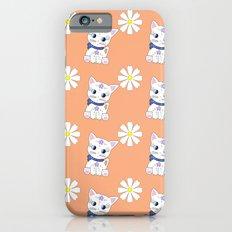 Floral Bella repeat Slim Case iPhone 6s