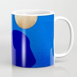 Golden Islands - Royal Blue Minimalist Coffee Mug