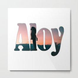 Aloy Metal Print
