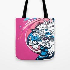 Whirlwind Tiger Tote Bag