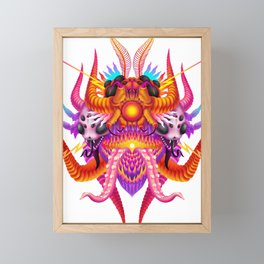 Kaiju ultimate Framed Mini Art Print