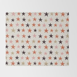 Star Pattern Color Throw Blanket