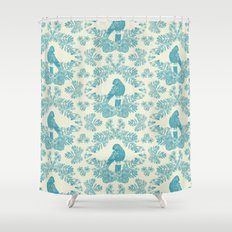 Mexican Parrot Shower Curtain