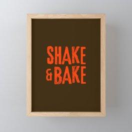 Shake and Bake Framed Mini Art Print