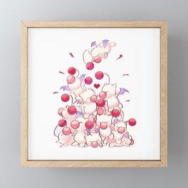 Baby Moogles Framed Mini Art Print