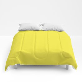Tropical Sunshine Yellow #society6 Comforters