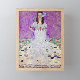 Gustav Klimt Mada Primavesi Framed Mini Art Print