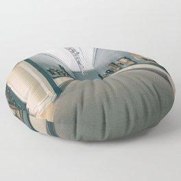 Art Piece by Bahman Adlou Floor Pillow