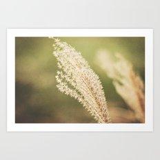 Fuzzy Wishes Art Print