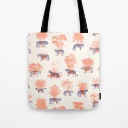 Where they Belong - Tigers Tote Bag