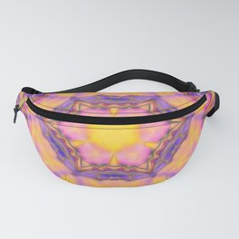 Delicate kaleidoscope in the colors of summer Fanny Pack
