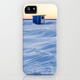 The fishing cabin iPhone Case
