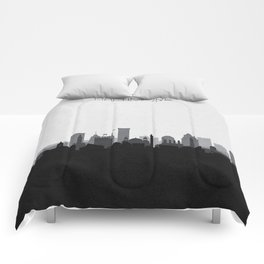 City Skylines: Baltimore (Alternative) Comforters