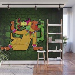Yaxchilan - Maya Tiger Wall Mural