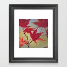 Dusky Fall Framed Art Print