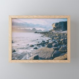 Elgol Beach VII Framed Mini Art Print