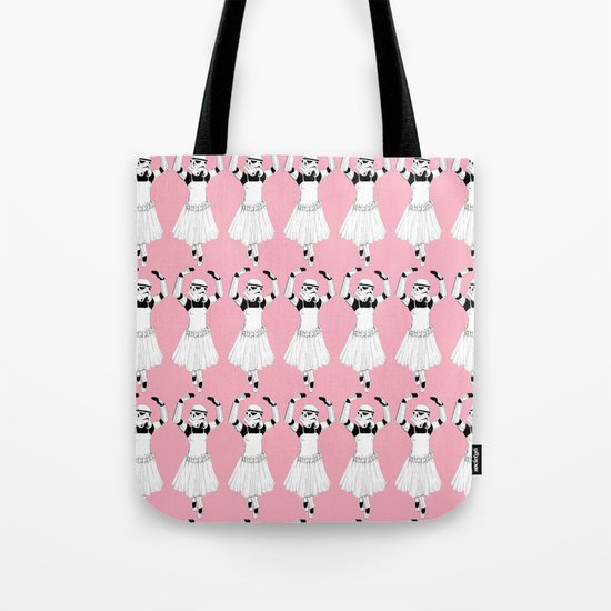 Ballerinatrooper Tote Bag