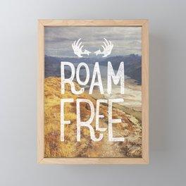 Roam Free NZ Framed Mini Art Print