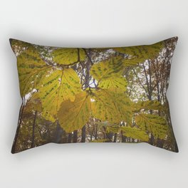 Fall In The Forest. Rectangular Pillow