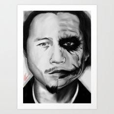 Heath/Joker Art Print