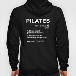 Pilates Definition Hoody