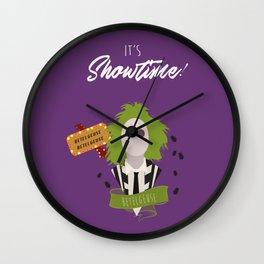 It's Showtime! Halloween Print Wall Clock