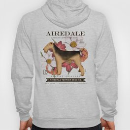 Airedale Terrier Seed Company artwork by Stephen Fowler Hoody