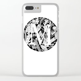 Woodsy M Clear iPhone Case