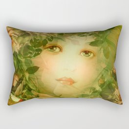 """""""The memory of an imagined childhood"""" Rectangular Pillow"""