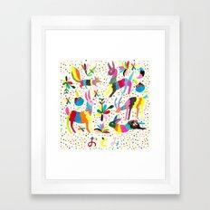 Otomi Framed Art Print