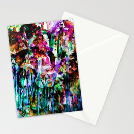 Misted Floral Stationery Cards