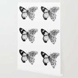 Butterfly in Bloom Wallpaper