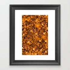 Dazzling Series (Gold) Framed Art Print