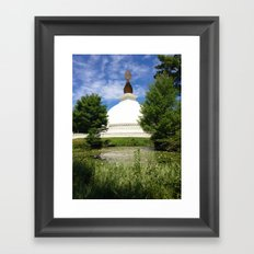 Peace Pagoda Framed Art Print
