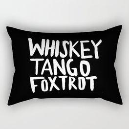 Whiskey Tango Foxtrot x WTF Rectangular Pillow