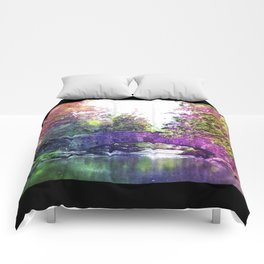 Rainbow Bridge Comforters