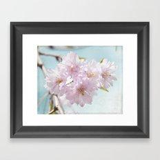 Spring Cherry Framed Art Print