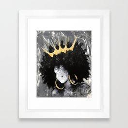 Naturally Queen III Framed Art Print