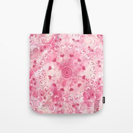 """""""The Suitor's Plea"""" Kaleidoscope 5 by Angelique G. @FromtheBreathofDaydreams Tote Bag"""