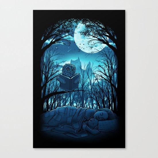 Bedtime Story Canvas Print