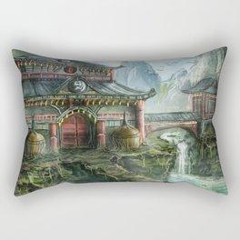 Giant Temple Rectangular Pillow