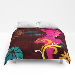 Salsa Fiesta Comforters