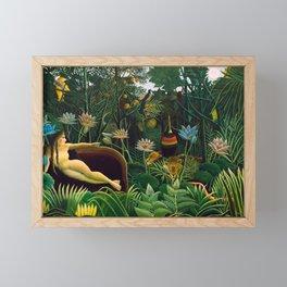 Henri Rousseau - The Dream , 1910 Framed Mini Art Print