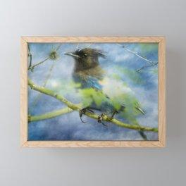 Knowing It Has Wings Framed Mini Art Print
