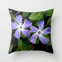 Purple flower 13 Throw Pillow